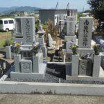 香川県高松市の香南町の墓地で庵治石の墓石を建てました。