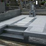 丸亀市営墓地で大島石(愛媛県産御影石)水子地蔵を建てさせて頂きました。