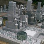 高松市塩江町で庵治細目特級石の墓石を建てさせて頂きました。