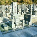 岡山市営墓地にて庵治細目特上石で墓石を建てさせて頂きました。