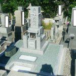 坂出市角山霊園で庵治中目特級石の墓石を建てさせて頂きました。