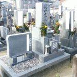 観音寺市で10寸庵治中目特級石(弊社所有の丁場の石)の墓石を建てさせて頂きました