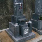 香川県小豆島で10寸庵治細目特級石の墓石を建てさせて頂きました