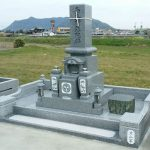 観音寺市自治会墓地で10寸庵治細目特級石の墓石を建てさせて頂きました
