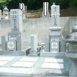 坂出市自治会墓地で10寸庵治中目特級石の墓石を建てさせて頂きました