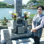 坂出市自治会墓地で庵治中目特級石の墓石を建てさせて頂きました