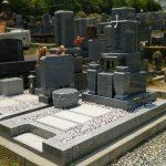 高松市営摺鉢谷墓地に大島石のお墓(九寸三重台)が完成しました。