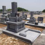 高松グリーンビュー霊園で、庵治石特上細目のお墓が完成しました