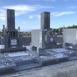 高松グリーンビュー霊園で、お墓の磨き直し移設工事と新規建立工事をさせていただきました。