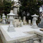 坂出市営田尾墓地で、お墓のリフォーム工事をさせていただきました。
