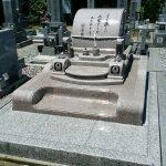 さぬき市の市営墓地にデザイン墓石が完成いたしました。