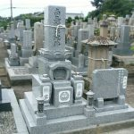 坂出市の自治会墓地のお墓を庵治石で建て替えしました。