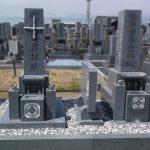 善通寺市の自治会墓地に庵治石細目の神道墓が完成しました。