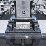 四万十市の市営霊園にデザイン墓石が完成しました。