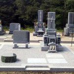 広島県福山市の寺院墓地に大島石の和型のお墓が完成しました。