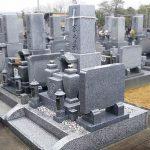 高松市の寺院墓地に庵治細目特級石のお墓が完成しました。