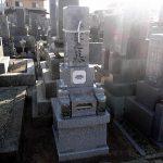 坂出市の自治会墓地に庵治中目特級石の和型のお墓が完成しました。