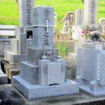 丸亀市の地域墓地でお墓の納骨スペースを広げるリフォーム工事を行いました。