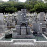 高松市の寺院墓地に、庵治細目特級石の10寸の和型墓石が完成しました。